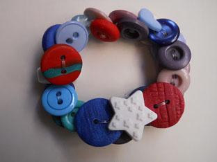 desembre pulsera de botons