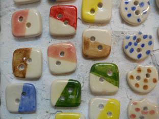 botons ceràmica quadrats