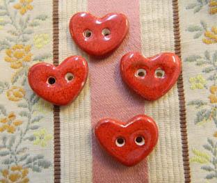 cor mitjà vermell botons
