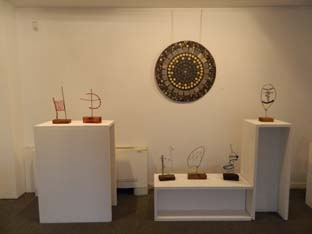plafon y esculturas