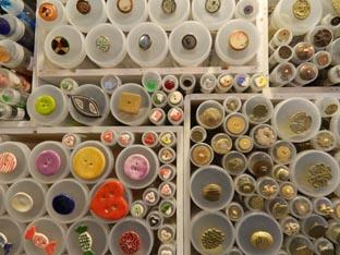 los materiales de los botones