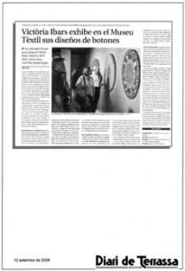 prensa Diari de Terrassa 12 se septiembre 2008