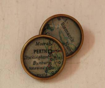 botones de resinas mapas