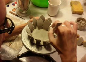 talleres de cerámica planta crasa
