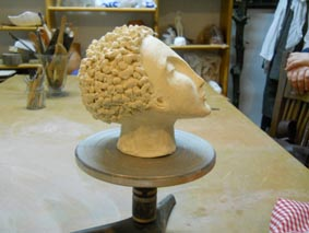 curs de cerámica un cap