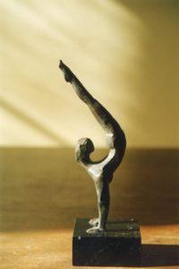 esculturas de bronce Atleta