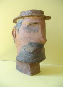 esculturas de cerámica Homenatge a Picasso