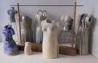 esculturas de ceramica e hilo de hierro Mis mejores Galas