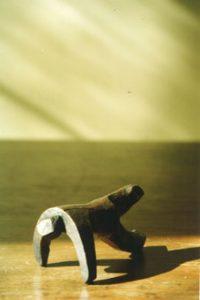 escultura de bronce Gimnàstica