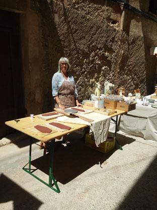 X mostra d'art i oficis d'Ascó Victoria Ibars