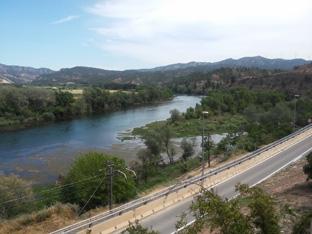 X mostra d'art i oficis d'Ascó el riu ebre