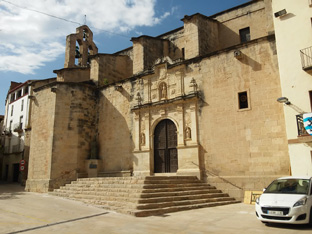 X mostra d'art i oficis d'Ascó esglesia