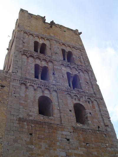 campanar de Sant Miquel de Fluvià