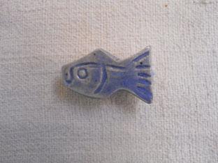 botón peces de colores